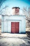 Zaniechany budynek Fotografia Stock