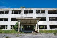 zaniechany budynek Zdjęcie Royalty Free