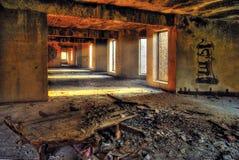 zaniechany budynek obrazy stock