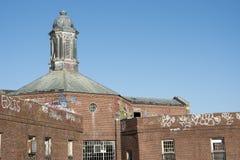 Zaniechany budynku dach Obrazy Stock