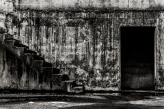 Zaniechany budynku ducha utrzymania miejsce Obrazy Royalty Free