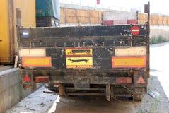 zaniechany ciężarowy rocznik Zdjęcia Stock