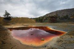 Zaniechany coppermine, Cypr Zdjęcie Royalty Free