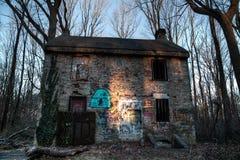Zaniechany dom Zdjęcia Royalty Free
