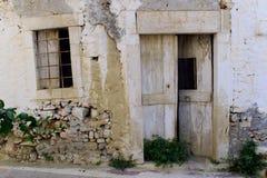 Zaniechany dom Fotografia Stock