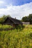 Zaniechany dom, Białoruś Zdjęcie Royalty Free