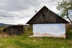 Zaniechany dom gdzieś w wiejskim Sistani Zdjęcia Stock