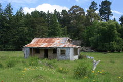 zaniechany dom wiejski Fotografia Royalty Free