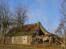 zaniechany dom wiejski Obrazy Stock