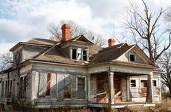 zaniechany domowy stary Fotografia Stock