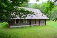 zaniechany domowy stary drewniany Obrazy Stock