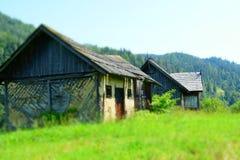 Zaniechany drewniany dom Zdjęcie Royalty Free