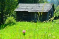 Zaniechany drewniany dom Obraz Stock