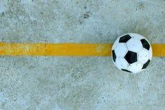 Zaniechany futbol gruntuje 2 Zdjęcia Stock