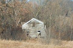 Zaniechany gospodarstwo rolne dom obrazy royalty free