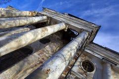 zaniechany kościół Obrazy Stock