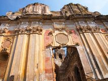 Zaniechany kościół fotografia royalty free