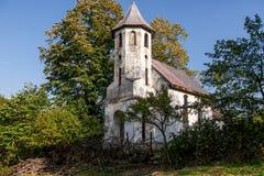 Zaniechany kościół Fotografia Stock