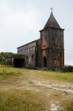 Zaniechany kościół chrześcijański Zdjęcia Stock