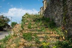 Zaniechany kościół w Banostor od Serbia Zdjęcie Royalty Free