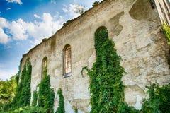 Zaniechany kościół w Banostor od Serbia Zdjęcie Stock