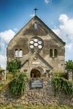 Zaniechany kościół w Banostor od Serbia Zdjęcia Royalty Free