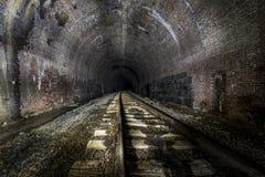 Zaniechany linia kolejowa tunel - Pennsylwania zdjęcia stock