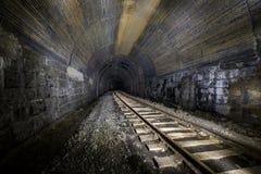 Zaniechany linia kolejowa tunel - Pennsylwania fotografia royalty free