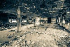 Zaniechany madhouse Zdjęcie Stock