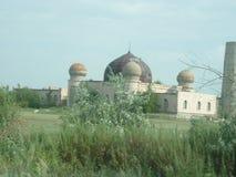 Zaniechany meczet w Kazachstan fotografia royalty free
