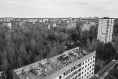 zaniechany miasto zdjęcie royalty free