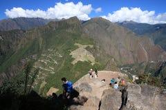 Zaniechany miasto Mach Picchu Zdjęcia Royalty Free