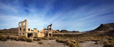 zaniechany Nevada rhyolte miasteczko zdjęcia stock