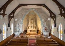 Zaniechany Ontario Wiejski kościół obraz royalty free