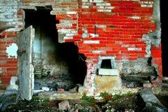 zaniechany opustoszały dom zdjęcia stock