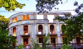 zaniechany pałac Obrazy Stock