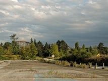 Zaniechany park rozrywki w Ohio fotografia royalty free