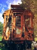 Zaniechany pociąg Zdjęcie Royalty Free