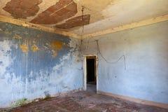 Zaniechany pokój obrazy stock