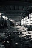 zaniechany przemysłowy wnętrze Obrazy Stock