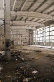zaniechany przemysłowy wnętrze Zdjęcia Stock