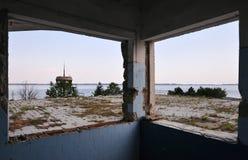 Zaniechany rekreacyjny centrum Fotografia Royalty Free