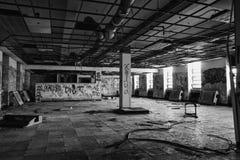 Zaniechany rekreacyjny centrum Zdjęcia Stock