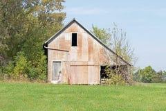 Zaniechany rolny budynek fotografia royalty free