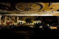 Zaniechany rozmaitość teatr - Cleveland, Ohio obrazy royalty free