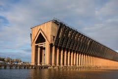 Zaniechany Rudny dok na Jeziornym przełożonym - Marquette Michigan obrazy royalty free