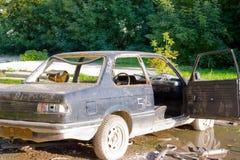 zaniechany samochodowy stary Obraz Stock