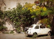 zaniechany samochodowy stary Fotografia Royalty Free