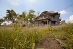 Zaniechany Stary dom Obrazy Royalty Free