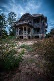 Zaniechany Stary dom Zdjęcie Stock
